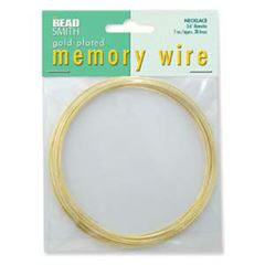 Gold Memory Wire Necklace 1 ounce