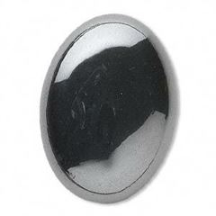 Oval Hematite Cabochons