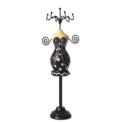 Black Dress - Lady Jewelry Holder / Display
