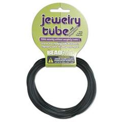 2mm Black Jewelry Tube  and Connectors