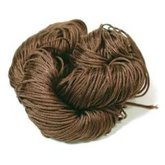 1.2mm Knotting Cord - Brown 82 yards