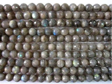 16mm Labadorite A Faceted Beads 16