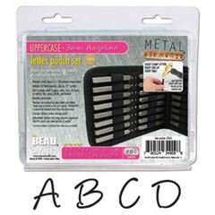 Angelina Uppercase Punch 27 Pc - (3mm)