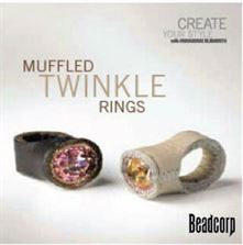Muffled Twinkle Rings--Swarovski mini instruction booklet