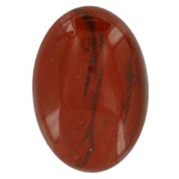 Oval Red Jasper Cabochons