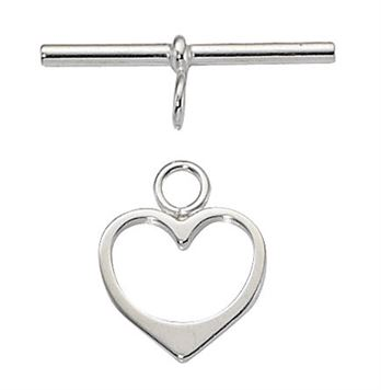 14mm Silver Filled Toggle Clasp