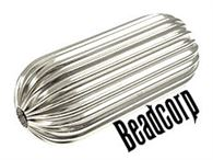 38x15 Sterling Silver Large Corrugated Drum
