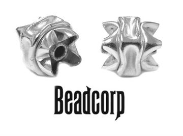 Limited!!! 10x8 Sterling Silver Specialty Interlock Beads