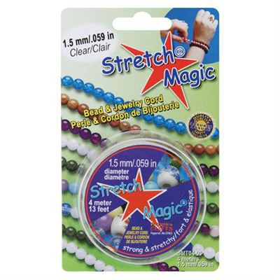 1.5mm Stretch Magic Beading Cord 4 meters (13 feet)