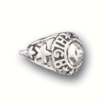 Sterling Silver Class Ring Charm