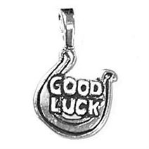 Sterling Silver Good Luck Charm