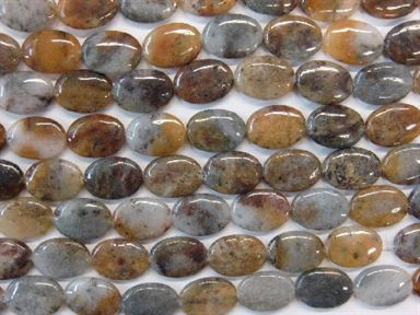CHINESE LODALITE FLAT OVAL 22X30MM