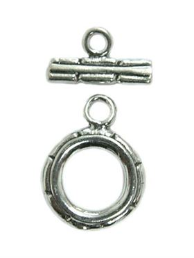 10mm Sterling Silver Toggle Clasp st26