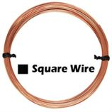 Rose Gold Filled Square Wire