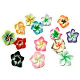 Fimo Flower Beads