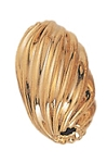 10x5.8mm Gold Filled Oval Corrugated Twist Bead 14/20kt.
