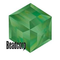 Swarovski 5601 Cube Crystal Beads - Palace Green Opal
