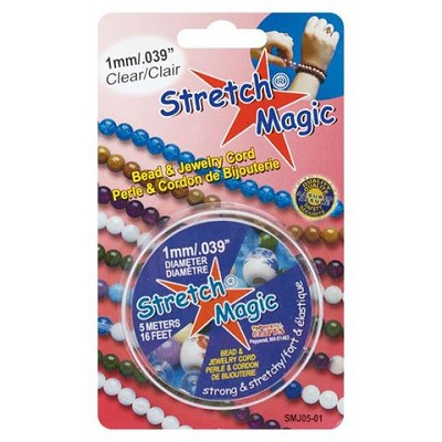 1mm Stretch Magic Beading Cord 5 meters (16 feet)