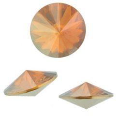 8728ca6e6 1122 - Swarovski Rivoli 14mm Crystal Copper