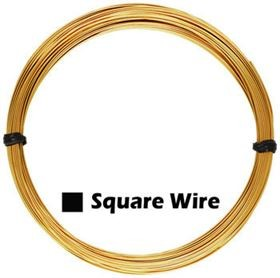 21 Gauge - Gold Filled Square Wire 1oz.