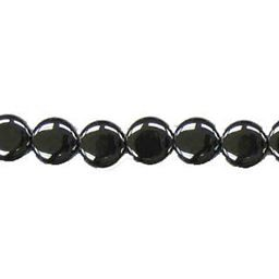 "10mm Coin Hematite Beads 16"" Strand (38 pcs.)"