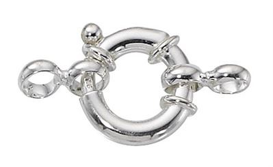 sterling silver spring ring clasps