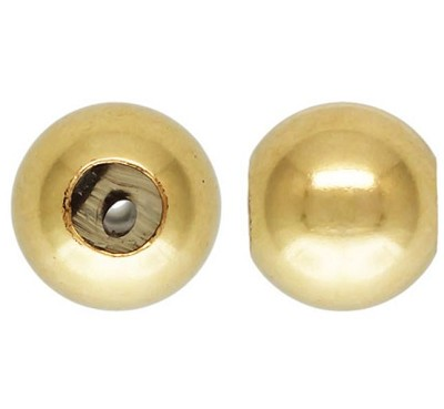 4mm Gold Filled Bead (.5mm Silicone Insert)